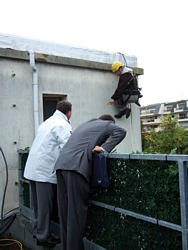 escalade antennes octobre 2007