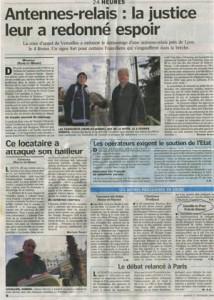 Le Parisien du 17 février 2009