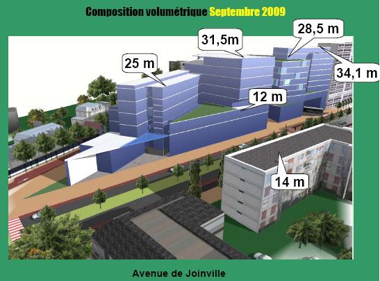 Avenue de Joinville, septembre 2009