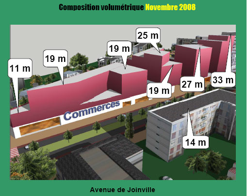 Avenue de Joinville, novembre 2008