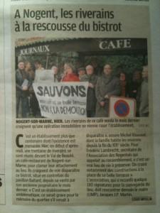 Extrait le Parisien VDM, 11 février 2011