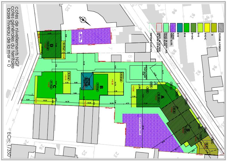 Le nouveau permis renvier de 120 136 appartements for Qu est ce que le plan de masse
